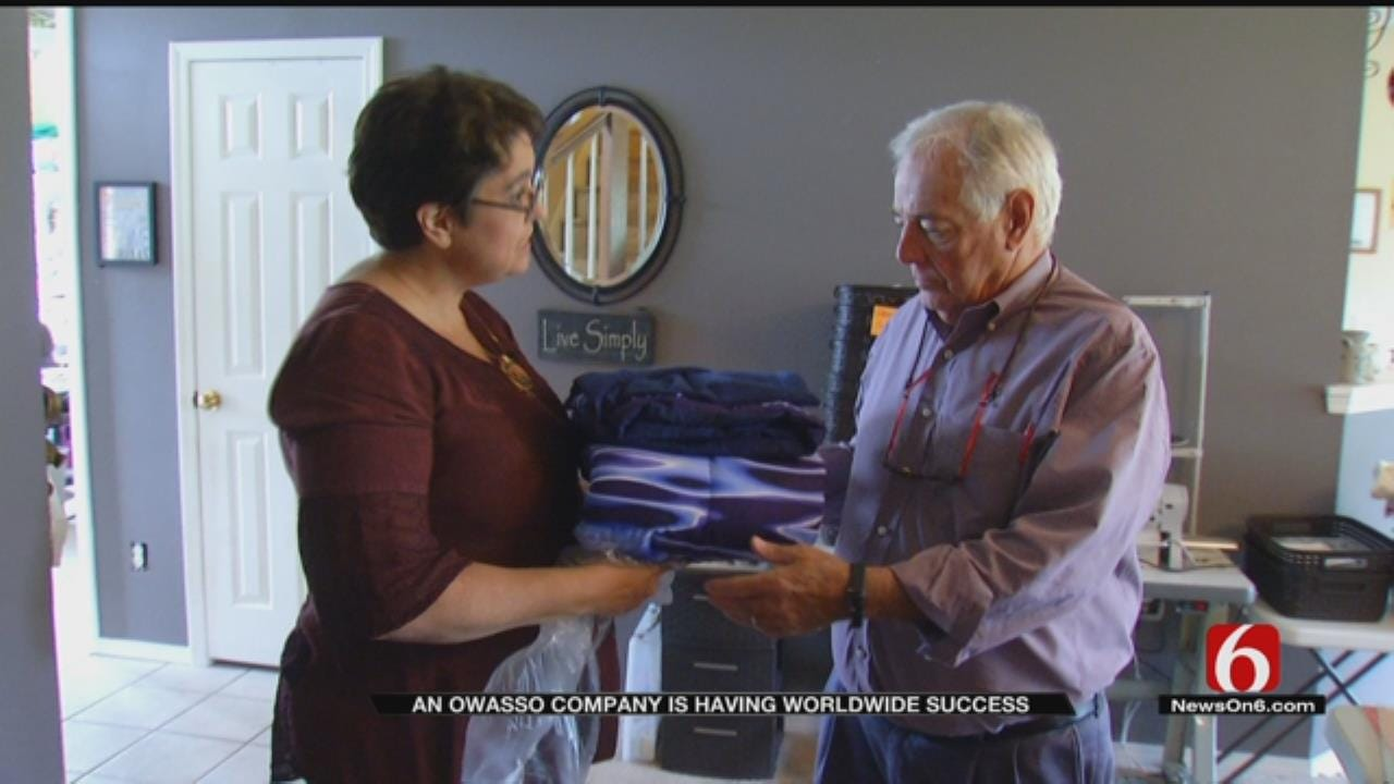 Owasso Home Retailer Provides Comfort Through Weighted Blankets