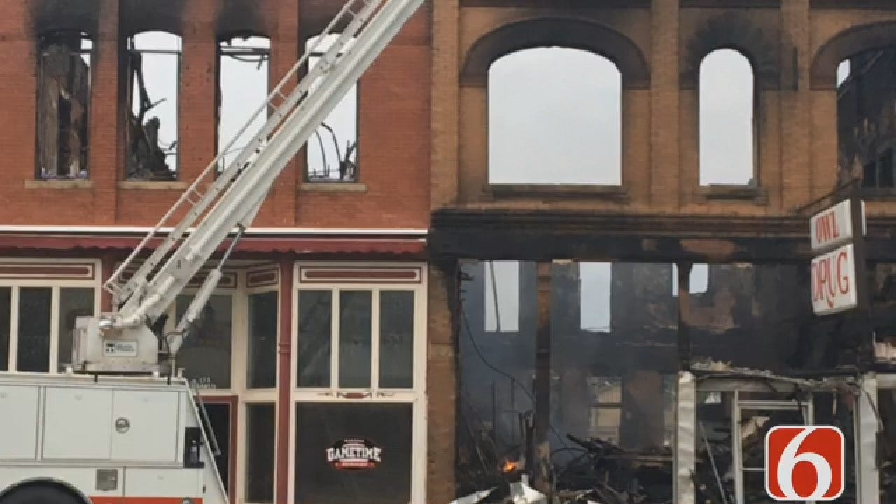 Joseph Holloway Says Investigation To Cause Of Wagoner Fire Continues