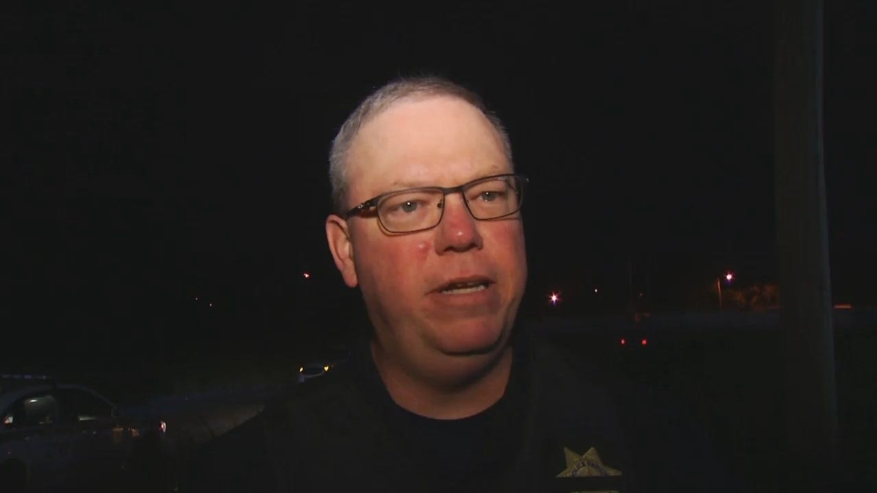 WEB EXTRA: Tulsa Police Captain Eric Nelson Talks About Chase, Arrest