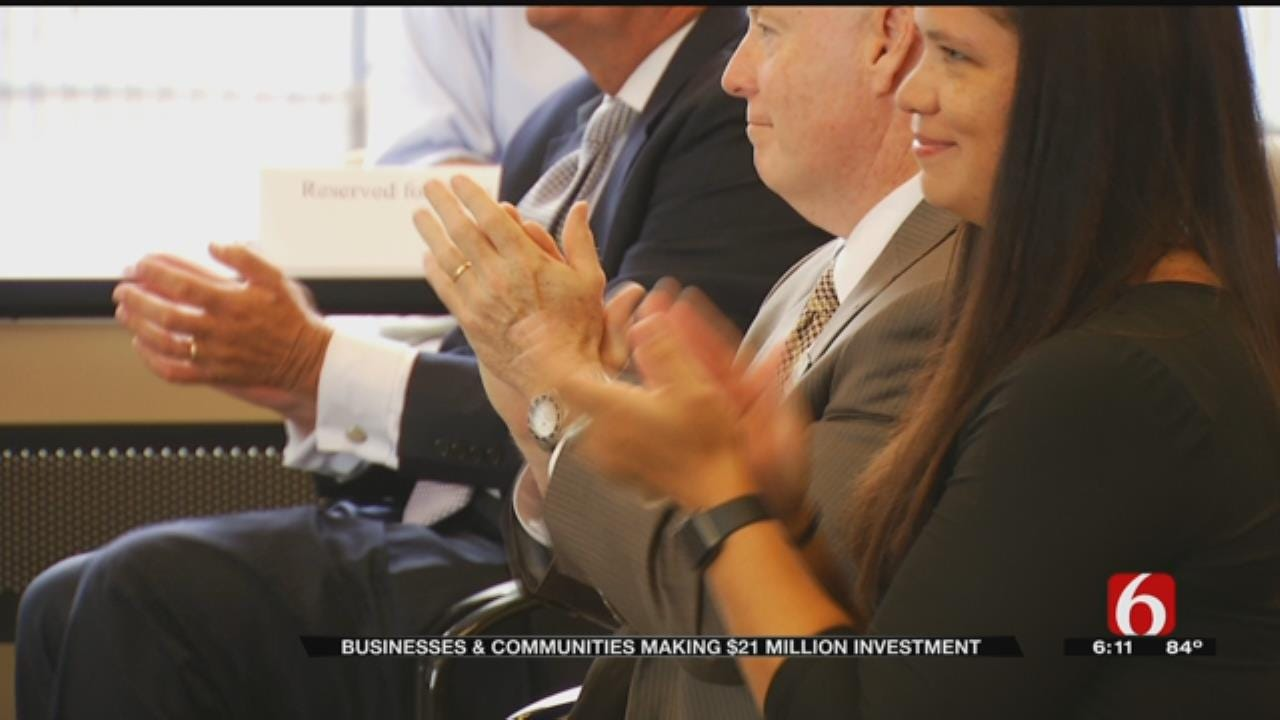 Tulsa-Area Companies, Cities Invest $21 Million To Expand Business, Bring Jobs