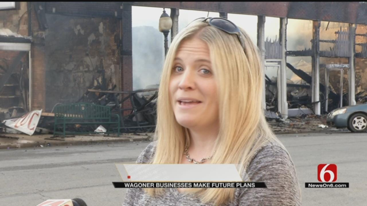 Wagoner Businesses Hope To Reopen Soon After Massive Fire