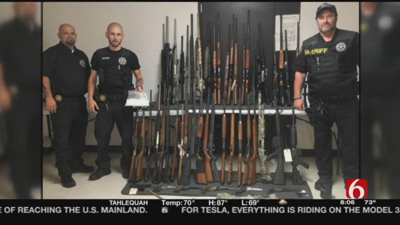 Guns, Drugs, Undocumented Wildlife Seized In Adair County Bust