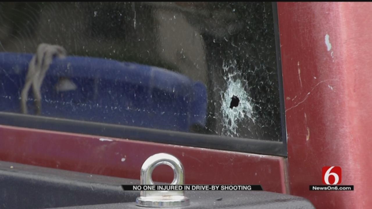 Tulsa Police Seek Gunman Who Fired On House