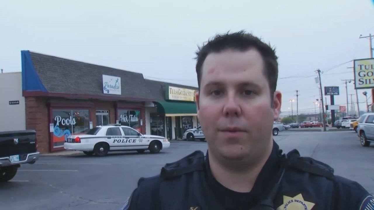 WEB EXTRA: Tulsa Police Cpl. Steven Pickett Talks About Burglary, Arrest