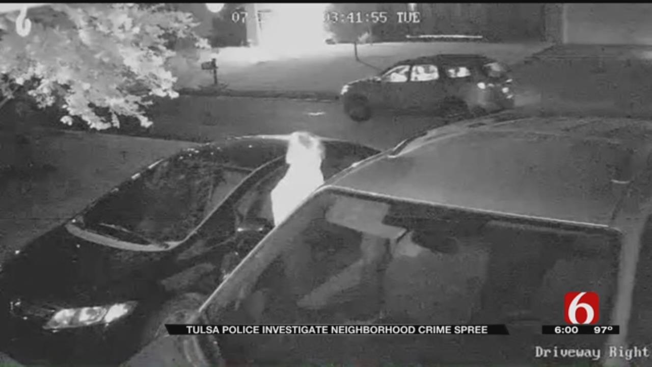 Tulsa Burglars Used Garage Door Openers To Get Inside Homes, Police Say