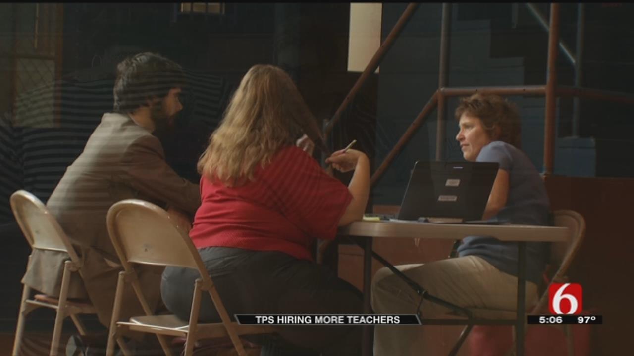 Tulsa Public Schools Continues Search For Teachers