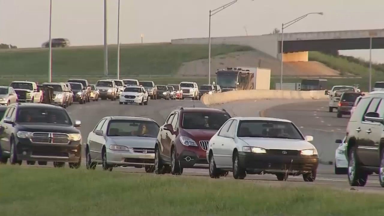 WEB EXTRA: Video From Scene Of Highway 169 Grease Spill