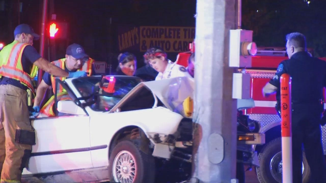 WEB EXTRA: Video From Scene Of Catoosa Crash