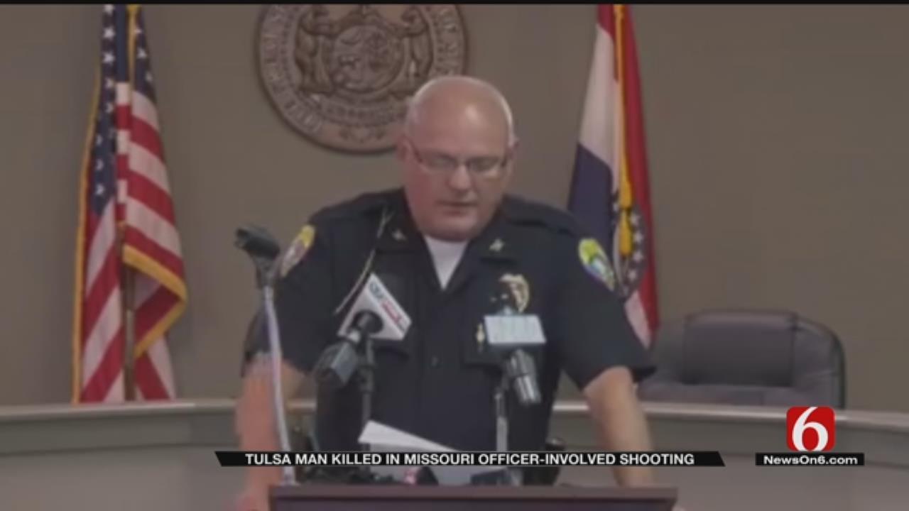 Armed Tulsa Man Fatally Shot By Missouri Police Identified
