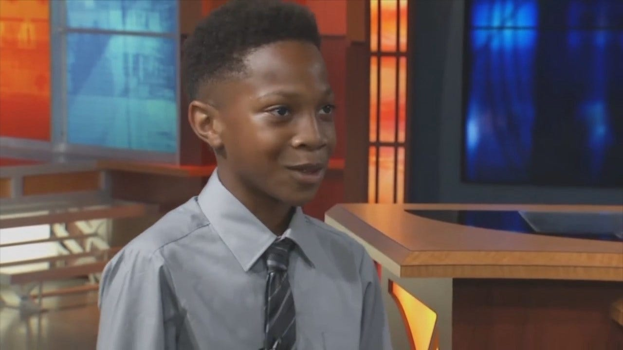 John Holcomb Goes 1-On-1 With 10-Year-Old Sports Fan Who Started His Own Show