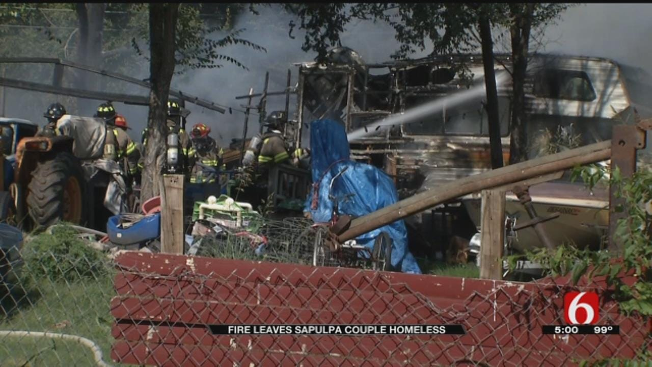 Family Left With Nothing After Fire Destroys Sapulpa Home