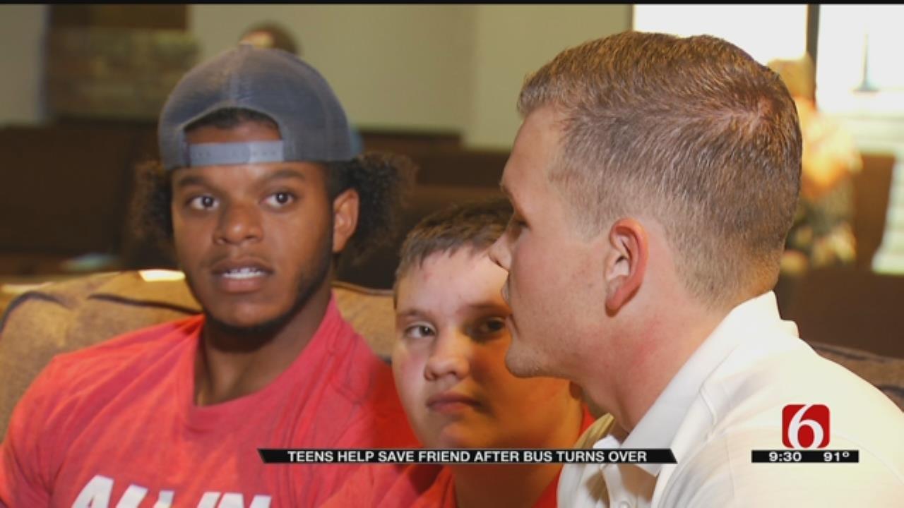 Teen Credits Fellow Broken Arrow Church Campers With Saving His Life