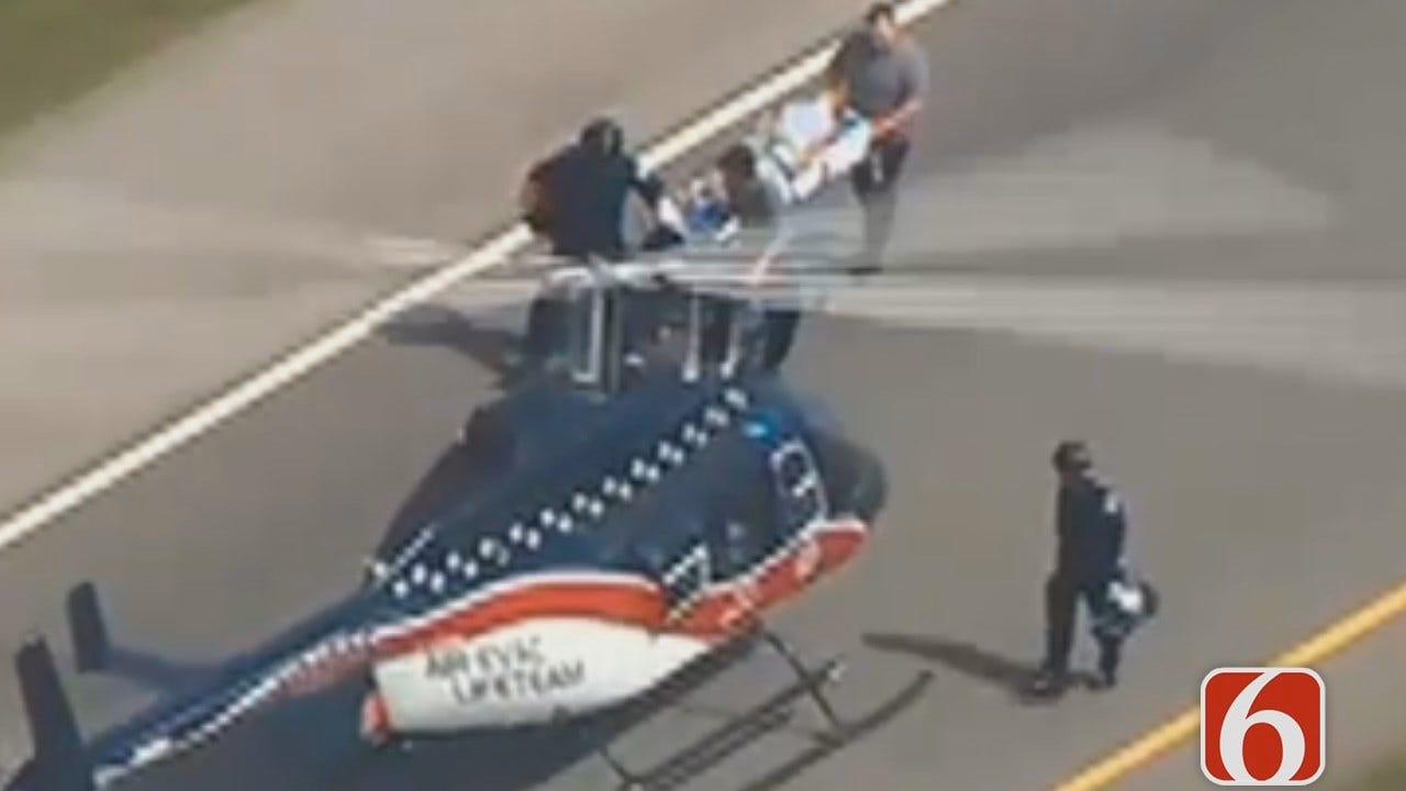 Dave Davis Says Three From Tulsa Killed In McLain County Crash
