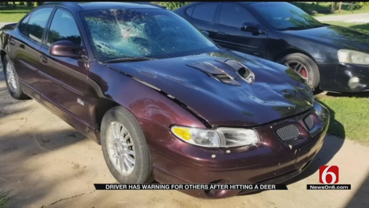 Rogers County Driver Warns Of Deer On Tulsa-Area Highways