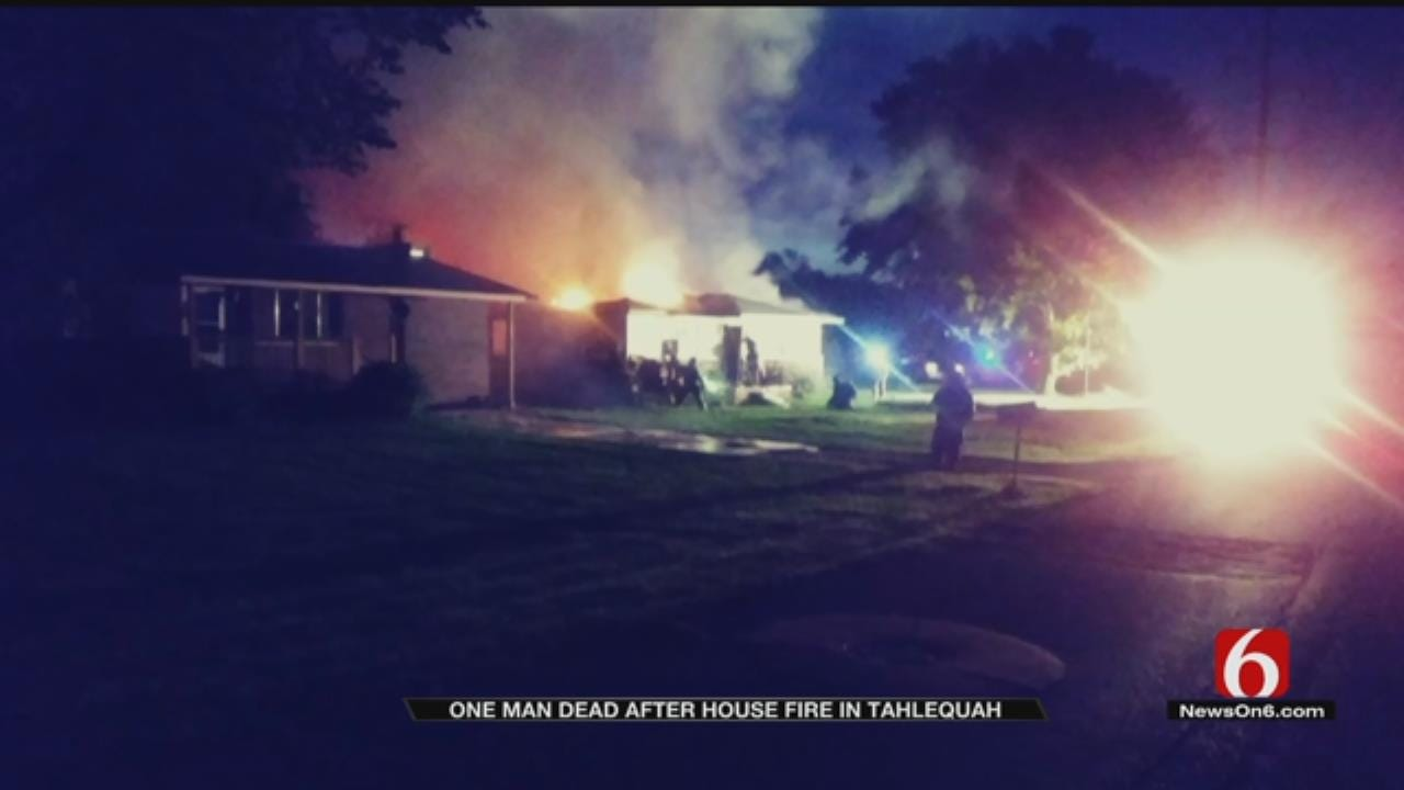 Tahlequah Man Dies In Sunday House Fire