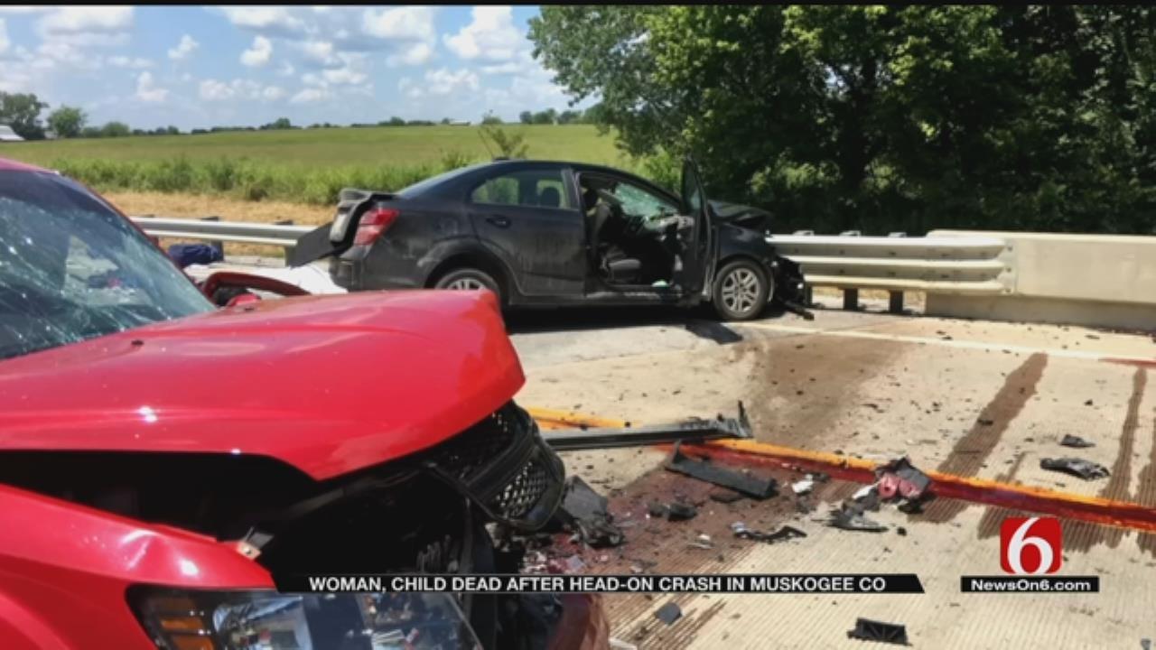 Head-On Crash Kills Two Outside Haskell