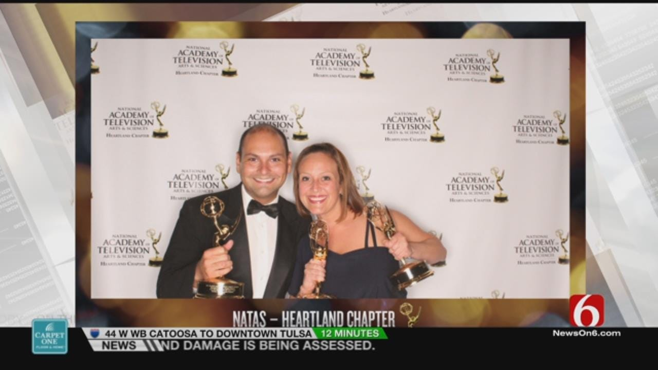 6 In The Morning Honored With An Emmy Award