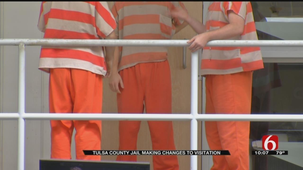 Number Of Visitation Days Decreasing At Tulsa County Jail