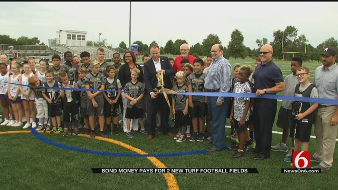 BA Youth Football Gets 2 New Turf Fields