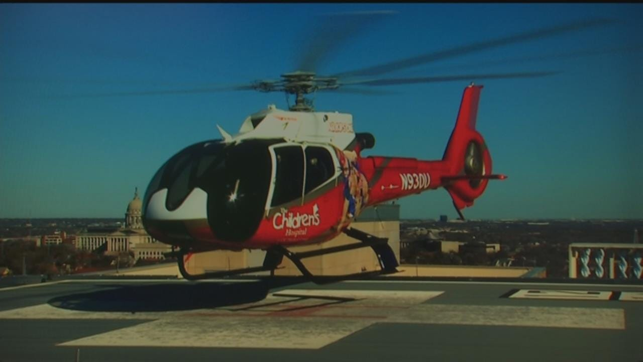 Air Kids One Only OK Medical Helicopter Dedicated To Transporting Children