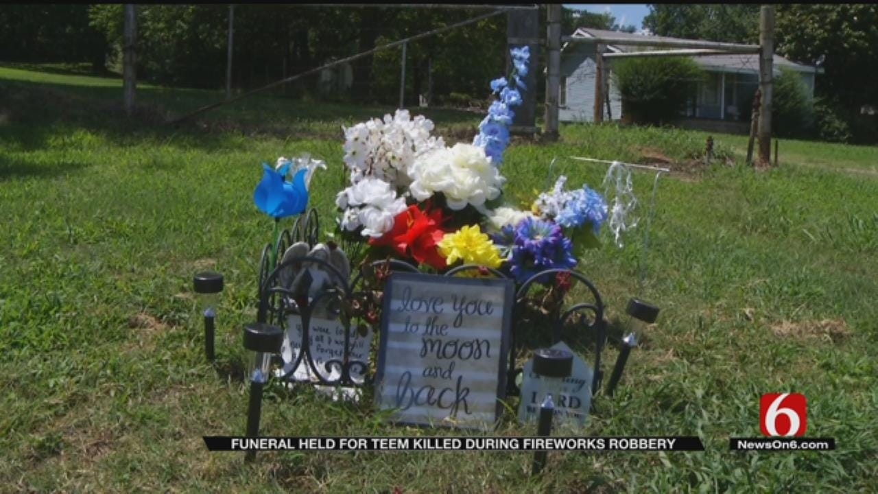 Funeral Held For Teen Killed In Tulsa Fireworks Stand Robbery