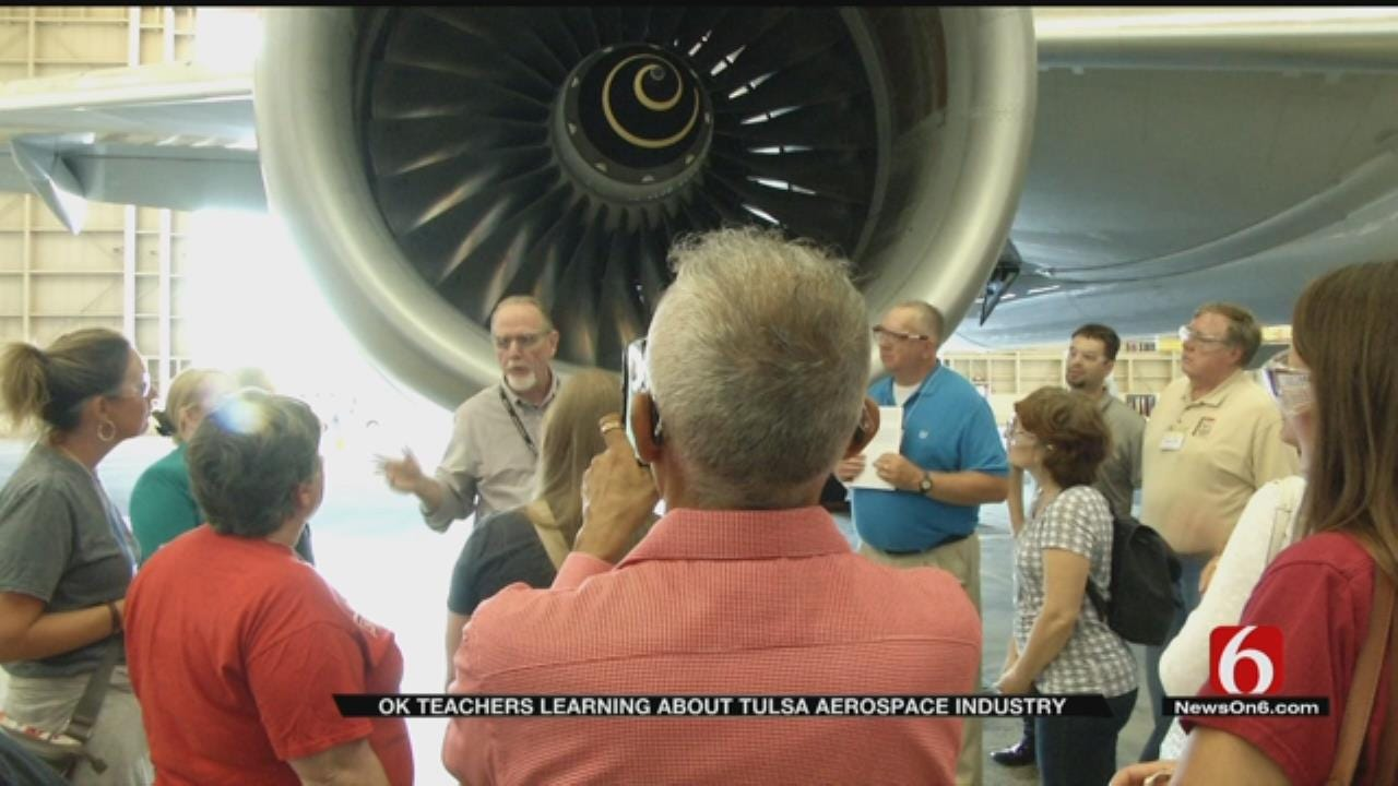 STEM Teachers Are Getting Educated On The Aviation Industry