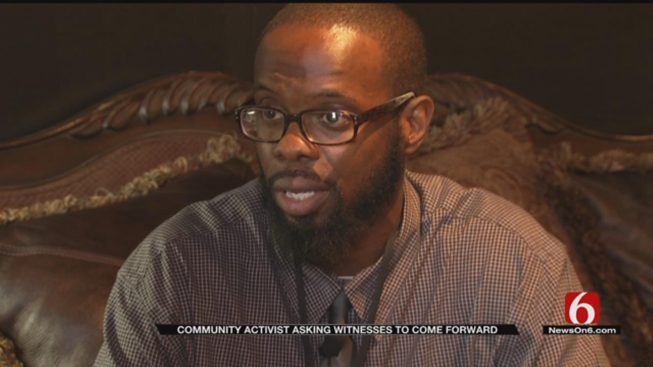 North Tulsa Community Organizer Asks Shooting Witnesses To Come Forward