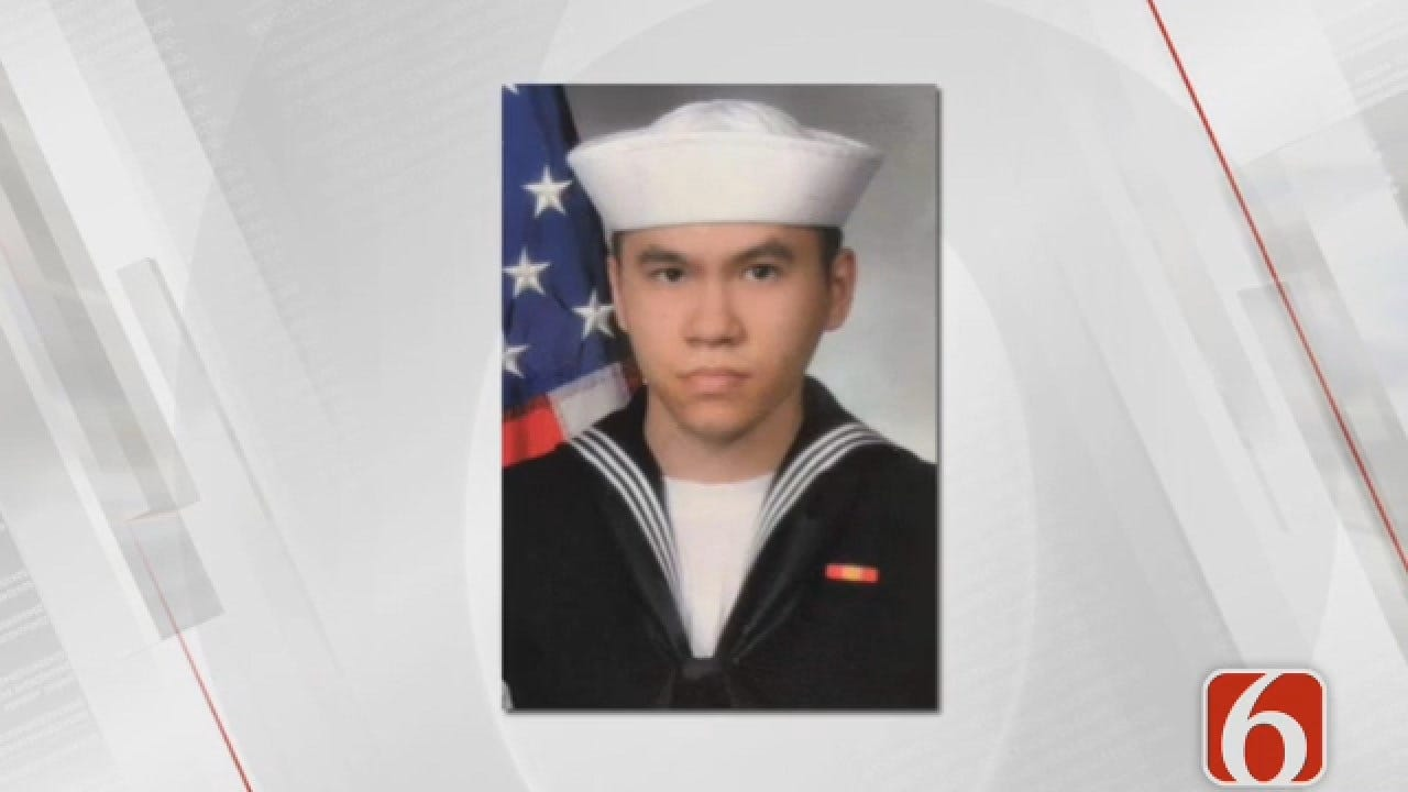 Dave Davis: Fallen Sailor Laid To Rest In Broken Arrow