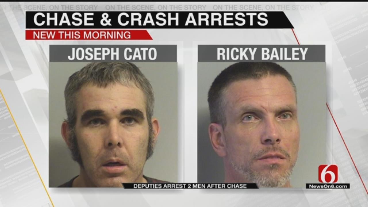 Two Men Jailed After Tulsa High Speed Chase, Crash
