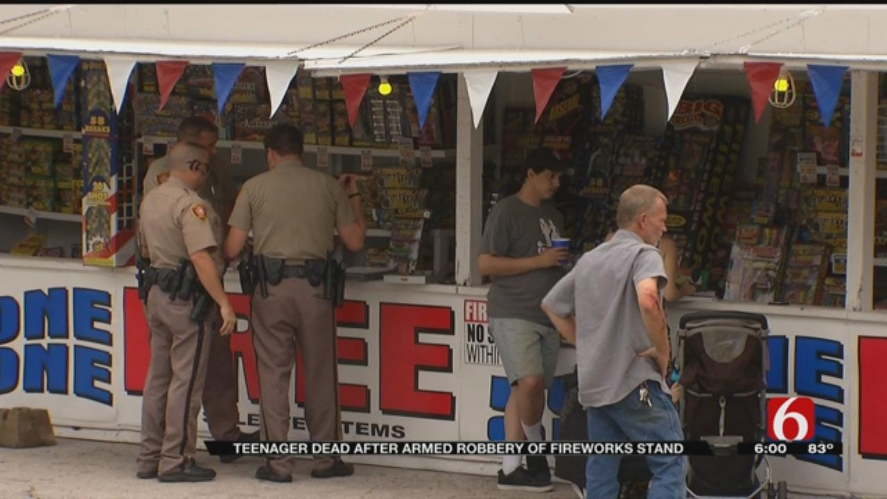 Emory Bryan: Armed Robbery Suspect Dies In Shootout At West Tulsa Fireworks Stand