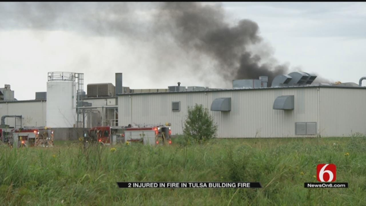 2 Injured In Fire At Honeywell Aerospace Building