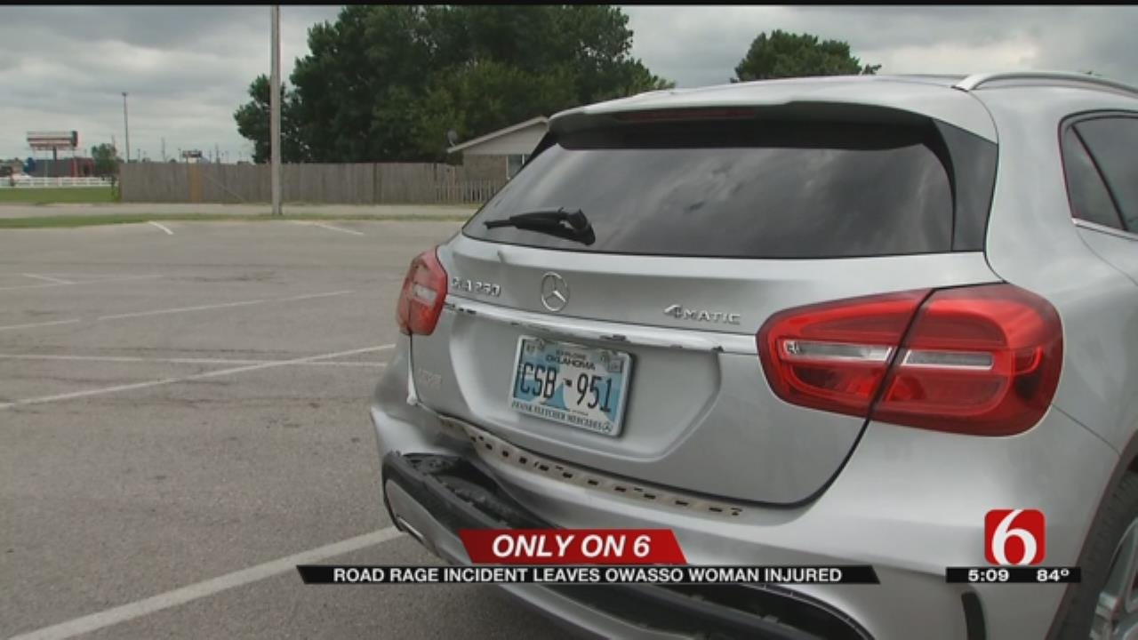 Tulsa Road Rage Victim Hopes Someone Recognizes Truck That Slammed Into Her