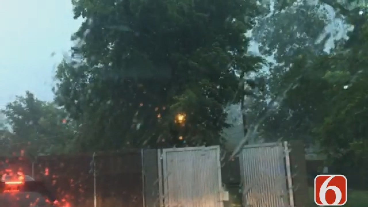 Joseph Holloway: Rain Pouring Down In Broken Arrow