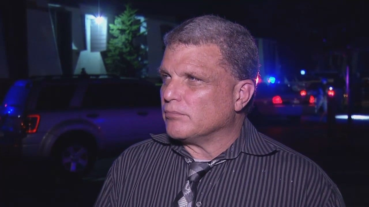 WEB EXTRA: Tulsa Police Sgt. Dave Walker Talks About Shooting Death