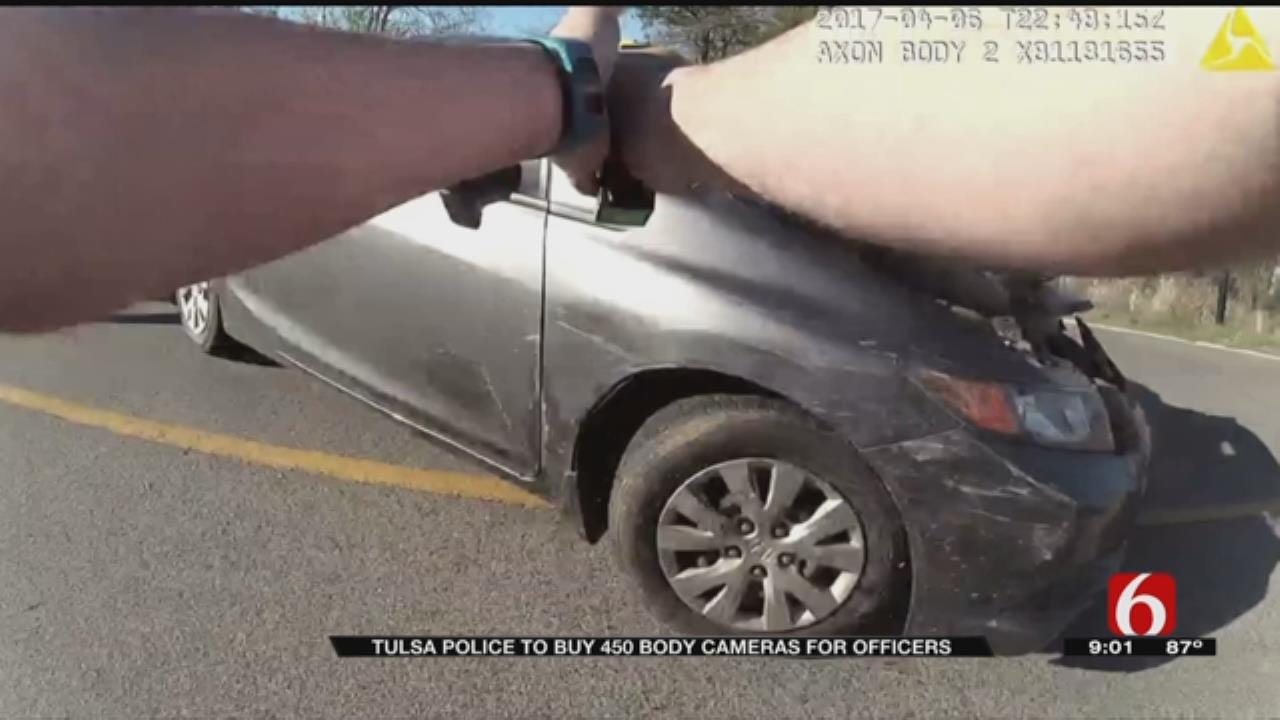 Tulsa Police Department Announces Purchase of Long-Awaited Body Cameras
