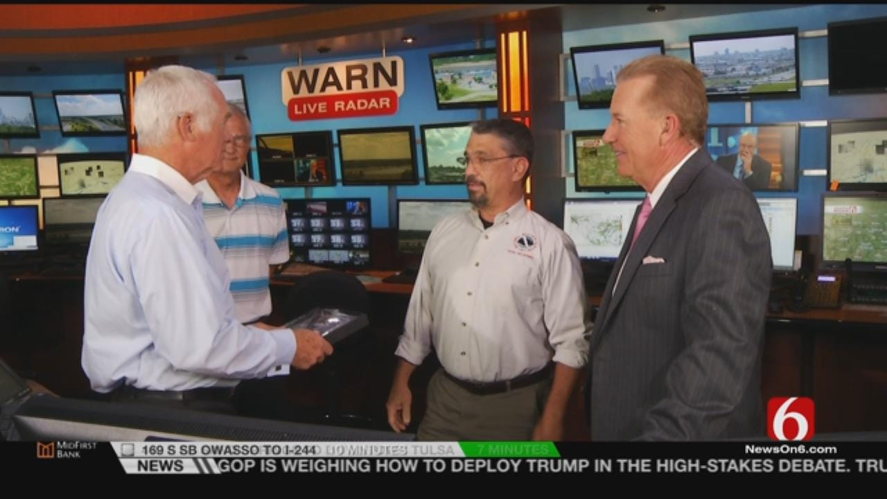 News On 6 Meteorologist Dick Faurot Honored By Tulsa National Weather Service Office