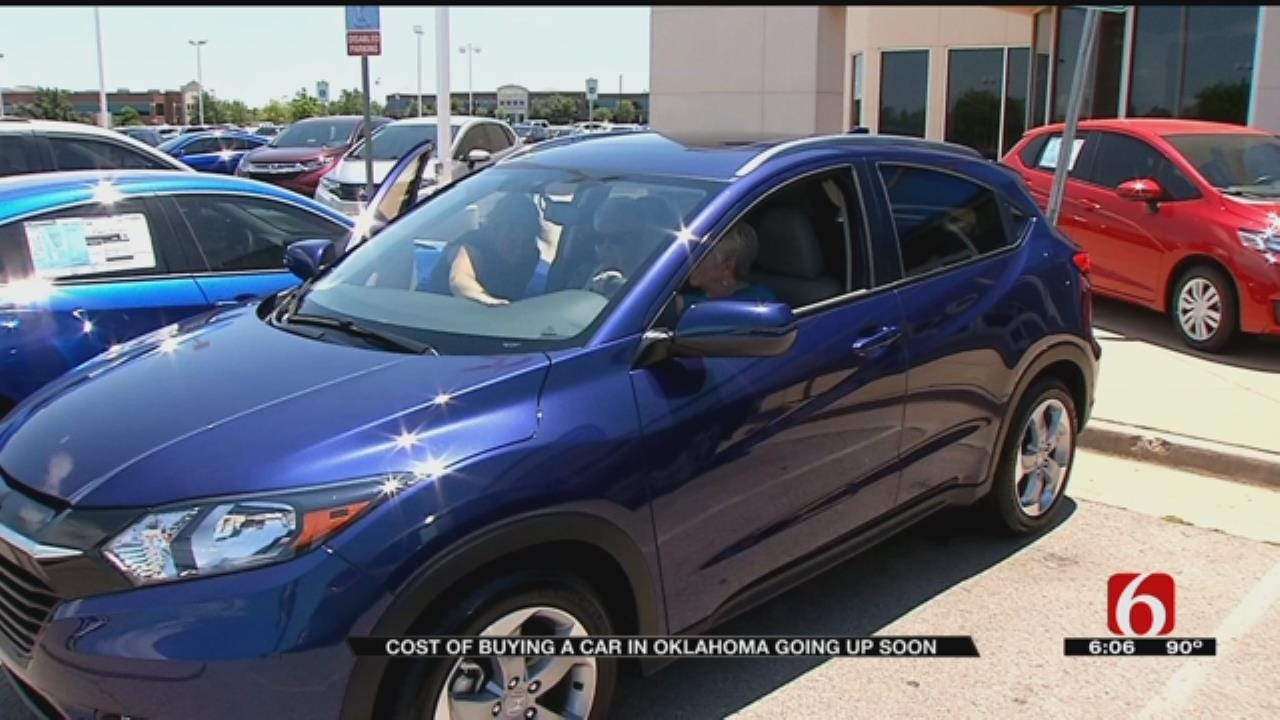 Car Tax Goes Into Effect July 1