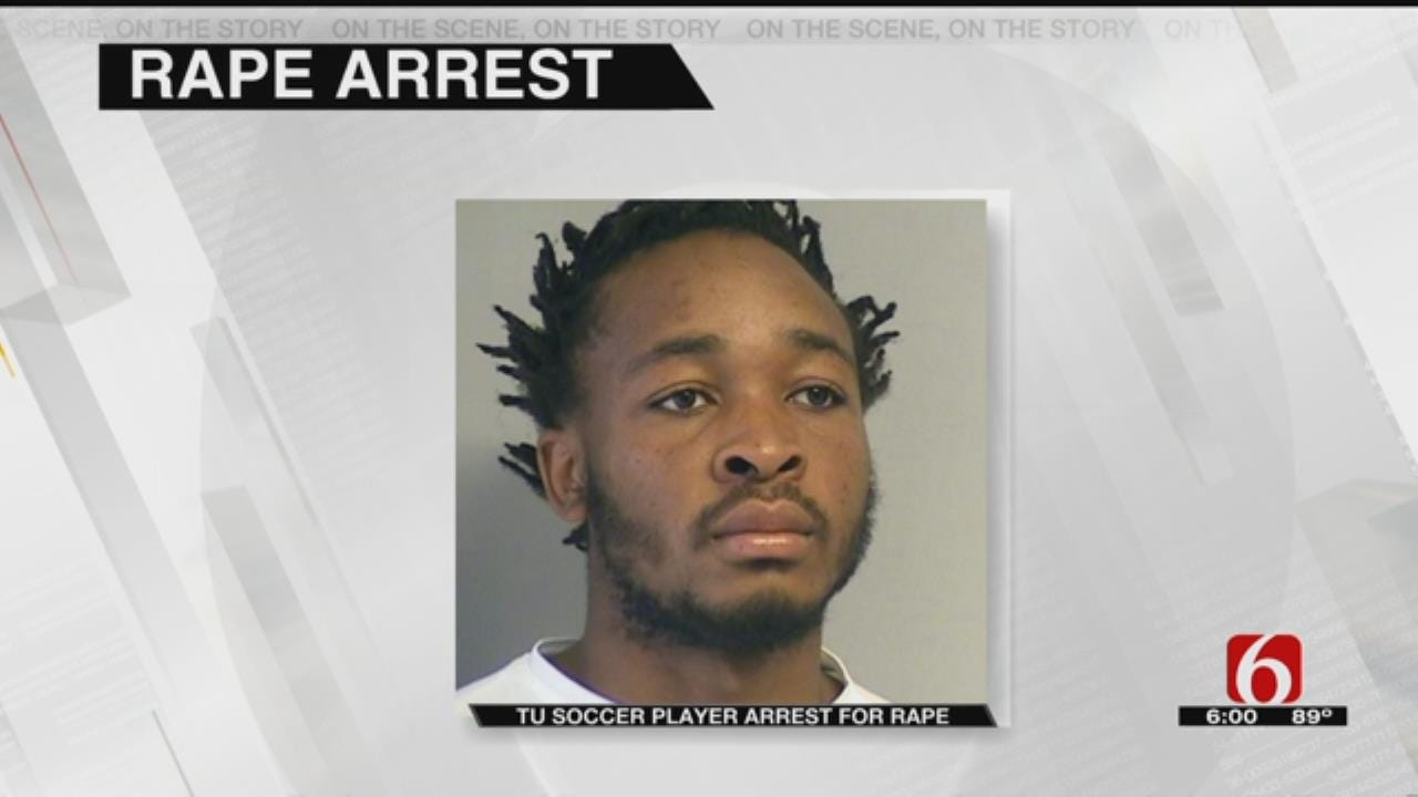 TU Soccer Player Charged In Rape Of Fellow Student