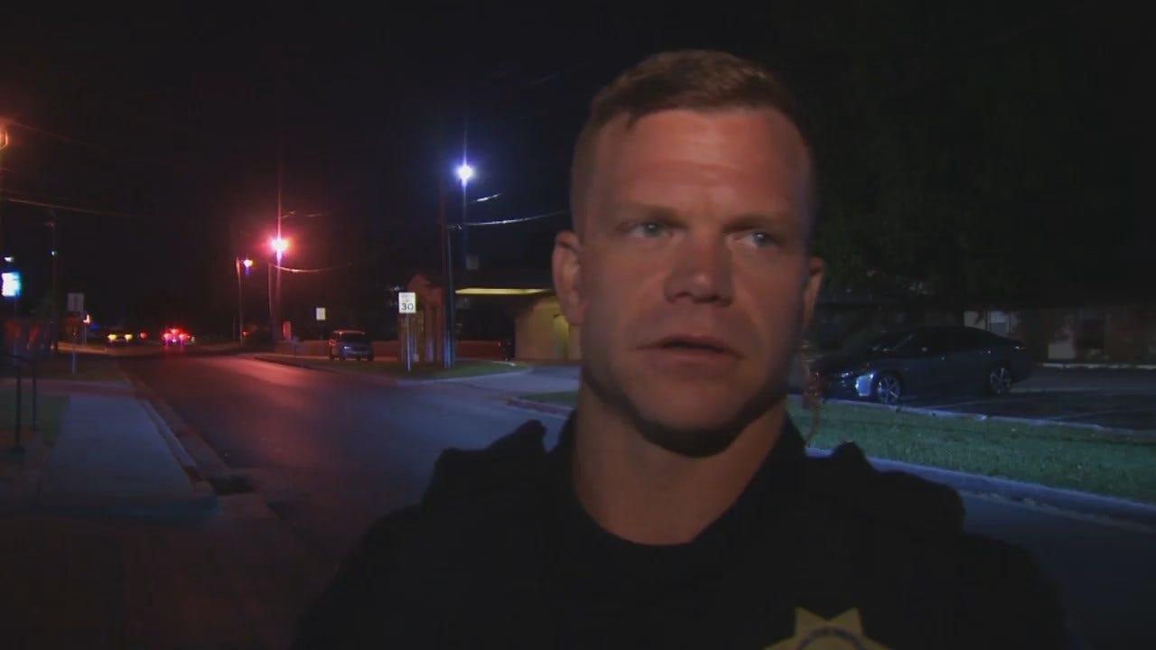WEB EXTRA: Tulsa Police Sgt. David Brice Talks About Robbery