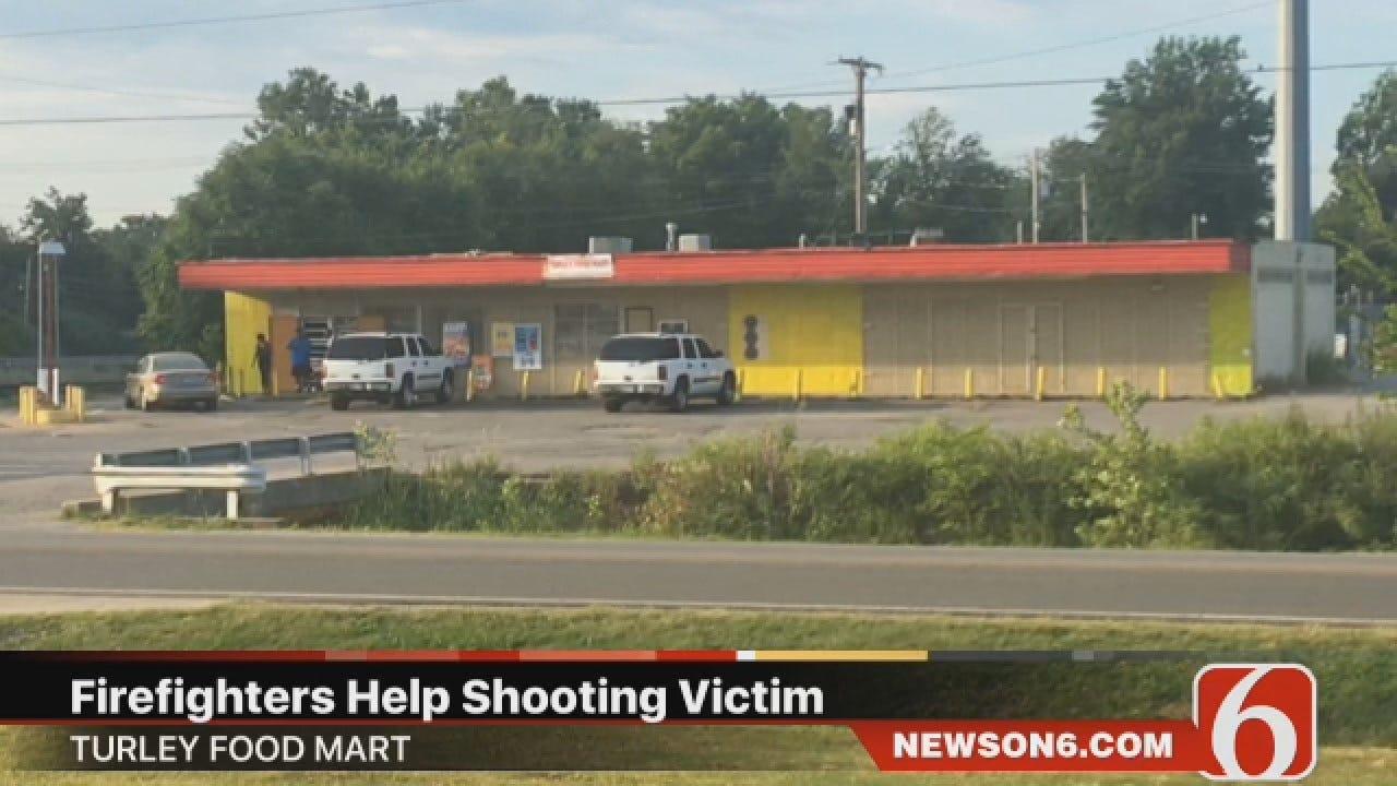 Joseph Holloway: Tulsa Firefighters Rush To Help Shooting Victim