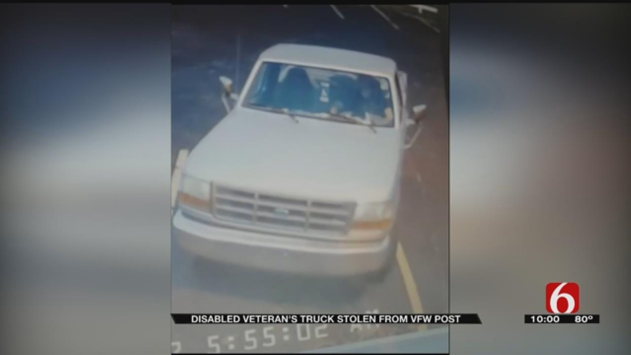 Thief Steals Veteran's Truck From Mannford VFW Parking Lot