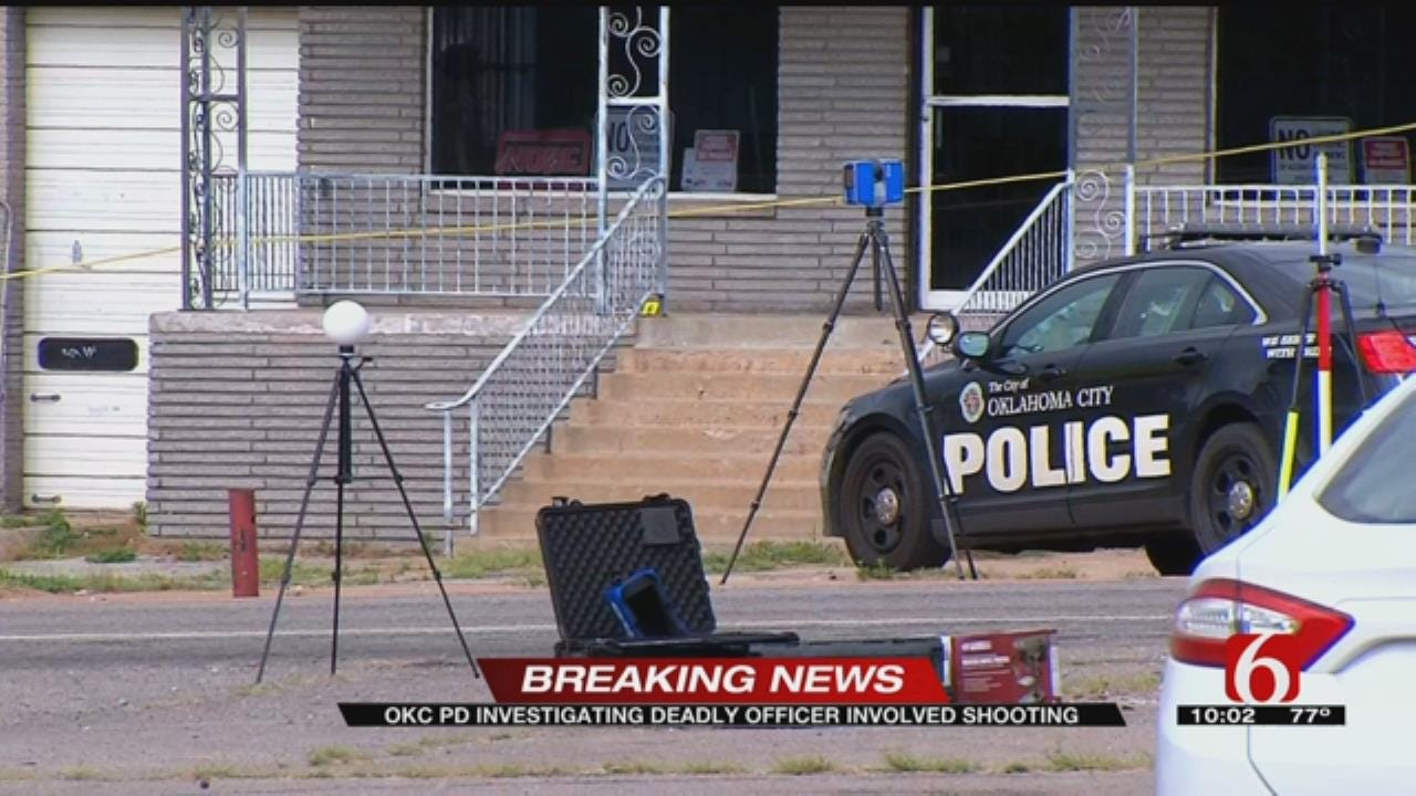 One Dead After SW OKC Officer-Involved Shooting