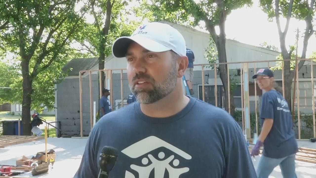 WEB EXTRA: Cameron Walker, CEO Of Tulsa Habitat For Humanity Talks About The Home