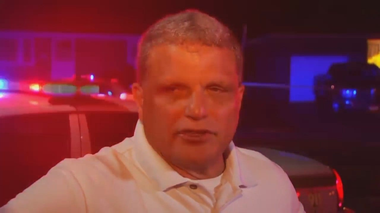 WEB EXTRA: Tulsa Police Sgt. Dave Walker Talks About Deadly Shooting