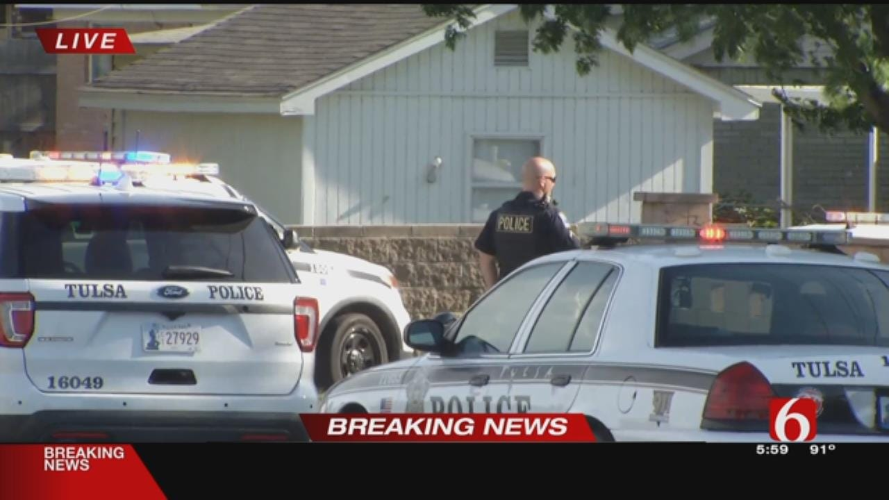 Tulsa House Surrounded After Shots Fired At Police