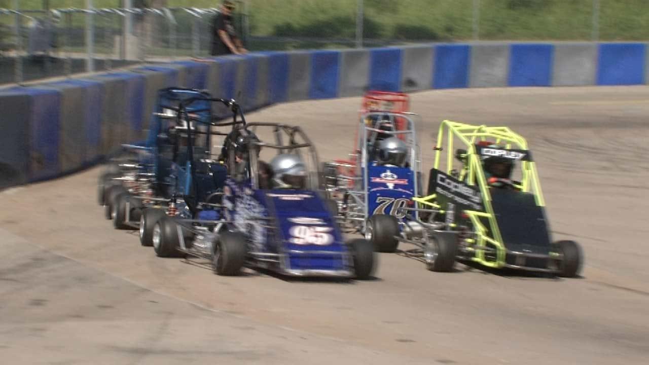 Young Drivers Showcase Racing Skills In Tulsa
