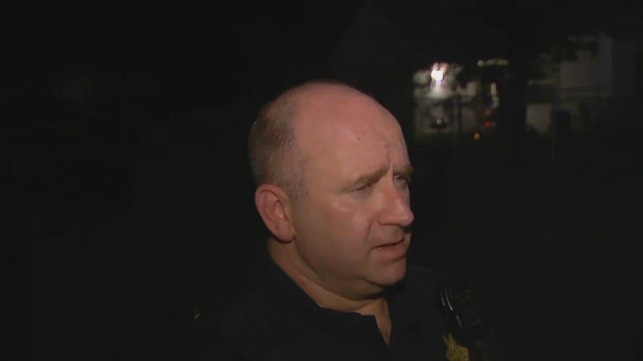 WEB EXTRA: Tulsa Police Cpl. James Stump Talks About Fatal Shooting