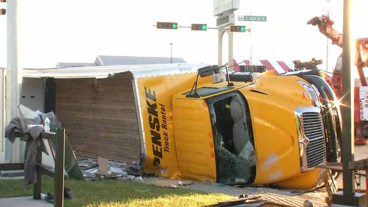 Dave Davis Reports On Owasso Moving Truck Crash