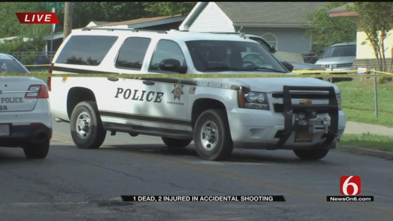 Tulsa Police: 1 Dead, 2 Injured In Triple Shooting