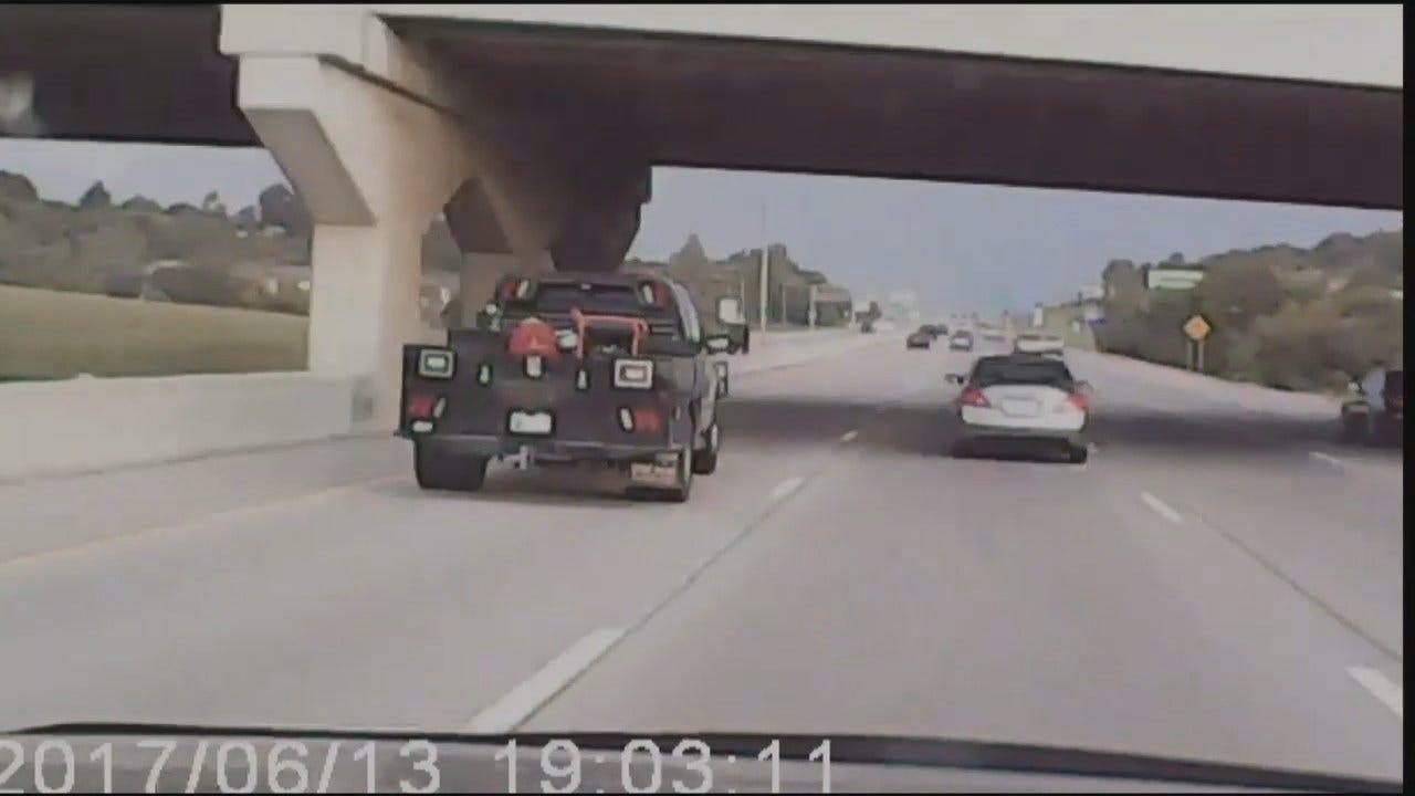 WEB EXTRA: Facebook Video Of Broken Arrow Expressway Road Rage Incident